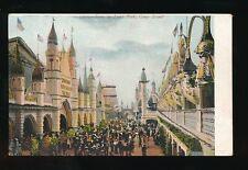 USA CONEY ISLAND Luna Park Glitter c1900/10s? PPC