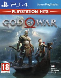 GOD OF WAR PS4 ITALIANO SONY PLAY STATION 4 VIDEOGIOCO PS HITS GIOCO PAL ITA Vid