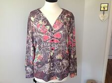 Ladies Freedom Cardigan Size XL Beautiful !