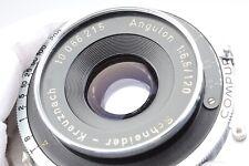 Schneider Kreuznach Angulon 120mm f/6.8 Wide Angle Large Format Lens #M86215