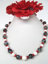 Handgefertigte Echtschmuck-Halsketten Korallen