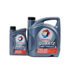 Total Quartz INEO Longlife 5W-30 1x5L+1x1L=6 Liter MB 229.51 VW 504.00 507.00 6L