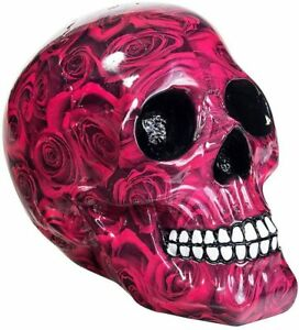 RED ROMANCE SKULL by Nemesis Now gothic gift