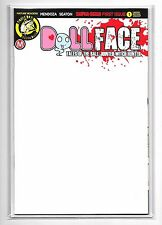 DOLLFACE #1 - Cover F - Blank Variant Cover - Action Lab Comics!
