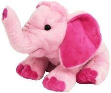Wild Republic - Cuddlekins Pink Elephant 30cm Stuffed Animal Toy