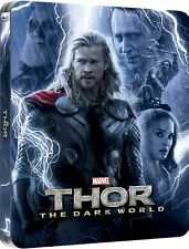 Thor  Dark World 3D & 2D - Zavvi Exclusive Lenticular Edition Steelbook