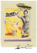 Kunstkarte: Paolozzi - Bunk! Evadne in Green Dimension