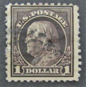 nystamps US Franklin Stamp # 423 Used $80   L30x304