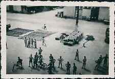 Indochine, Saigon. Quais des Messageries Maritimes, 1952 Vintage silver print