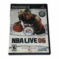 NBA Live 06 (Sony PlayStation 2, 2005) PS2 Complete w/Manual CIB Tested Works