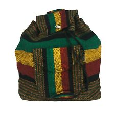 Small Jamaica Beach Mexican Hippie Baja Tote Ethnic Backpack Bag Blanket Hipster