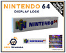 NINTENDO 64 Display Logo pour Collection de jeux videos Retro Gaming Cadeau Geek