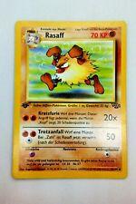 Pokemon Karte - Rasaff 43/64 1. Edition - Jungle Set - Deutsch