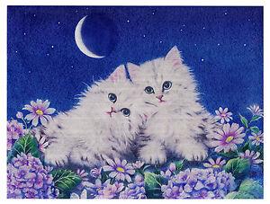 """Dufex Foil Picture Print - Moonlight Rendezvous - size 6"""" x 8"""""""