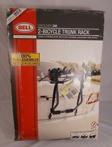 Bell Cantilever 200 2-Bike Trunk Rack Black Car SUV Mountain Road Bike Open Box