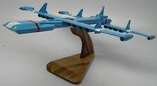 Zero-X Thunderbird Spacecraft Desktop Wood Model Big New