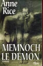 ANNE RICE: MEMNOCH LE DEMON. PLON GRAND FORMAT. 1997.