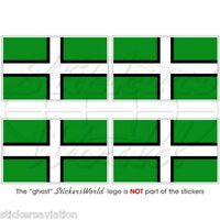 DEVON COUNTY Flagge ENGLAND Fahne VK 50mm Vinyl Sticker Aufkleber x4