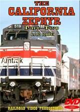 Amtrak's California Zephyr Cab Ride Part 2 DVD NEW Norden to Colfax Donner F40PH