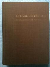 Le Livre des Familles 1976 : Généalogie Nord Pas de Calais ed Ravet Anceau