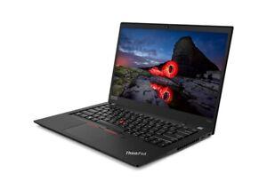 "Lenovo ThinkPad T490s 14"" Touchscreen Intel Core i7-8665U 1.90GHz 16GB 256GB USA"