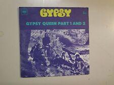 "YPSY:Gypsy Queen Part 1 4:21-Gypsy Queen Part 2 2:33-France 7"" 1970 CBS 5412 PSL"