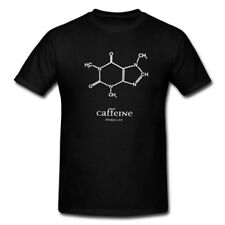 Chemistry Lover Shirts Nerds Mens Extra Large XL Size Caffeine Molecule T-Shirt