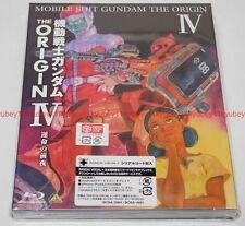 New Mobile Suit Gundam The Origin IV 4 Blu-ray Booklet Japan English Subtitles