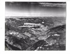 1945 Press Photo WWII Army Airplane Flies Over Salween Valley China 8244