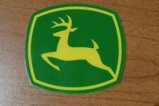 John Deere Yellow Leaping Deer Decal Jd5780