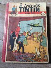 recueil reliure journal tintin France no 2 (1949) couv Hergé