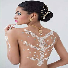 White Natural Herbal Henna Cones Body Art Paint Mehandi Ink Temporary Tattoo kit