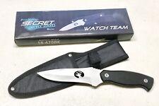 Frost Cutlery Secret Agent Hunting Fixed Blade Dagger Knife Sheath Case Mint