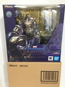IN STOCK! NEW Bandai S.H.Figuarts Marvel Avengers Endgame Thanos (Final Battle)