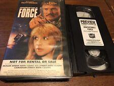 Irresistible Force (1993) - VHS - Action-Cynthia Rothrock-Promo / Screener -RARE