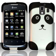 For Huawei AT&T Fusion 2 Rubberized HARD Case Snap On Phone Cover Panda
