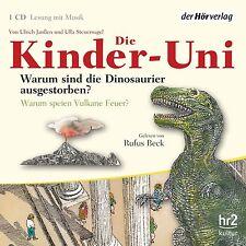 Die Kinder-Uni. Warum sind die Dinosaurier ausgestorben? Vulkane ? Rufus Beck