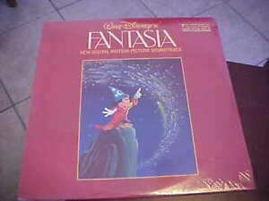 WALT DISNEY FANTASIA DIGITAL MOTION PICTURE SOUNDTRACK 2 LP SEALED !