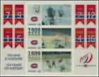 Canada  # 2340 100th  ANNIVERSARY MONTREAL CANADIANS   New 2009 Souvenir Sheet