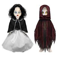 Living Dead Dolls SNOW WHITE & EVIL QUEEN Scary Tales doll/figure set~NIB