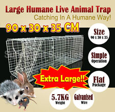 Extra Large Humane Live Animal Possum Trap Rat Cat Rabbit Hare Bird Bait Rat