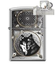 Zippo 0415 Wolf & Indian Dream Lighter with PIPE INSERT PL
