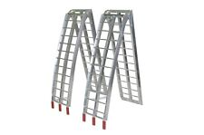 7.5' Aluminum Motorcycle Arched Truck ATV Folding Loading Ramp BD-1803 pair