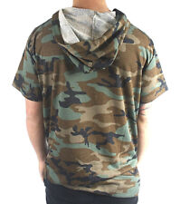 LUCKY BASTARDS LIGHT WEIGHT FRENCH TERRY CAMO HOODIE WITH SIDE SLIT MENS $59.99