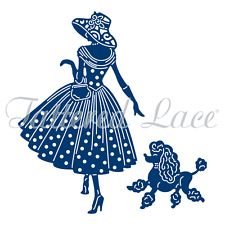 Tattered Lace Emma & Perdy out for a stroll Craft cutting Die dies  ETL320