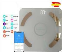 Bascula Fit de Baño 180 kg Balanza Inteligente Peso Digital Grasa Bluetooth APP