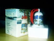 Hutschenreuther Weihnachtsglocke 1978 mit OVP