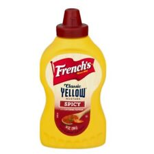 French's Yellow Spicy Mustard w/ Cayenne Pepper Condiment for Chicken / Grilling