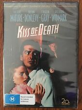 Kiss Of Death DVD Region 4 New & Sealed Victor Mature Brian Donlevy Coleen Gray