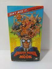 Amazon Women on the Moon VHS Video Tape